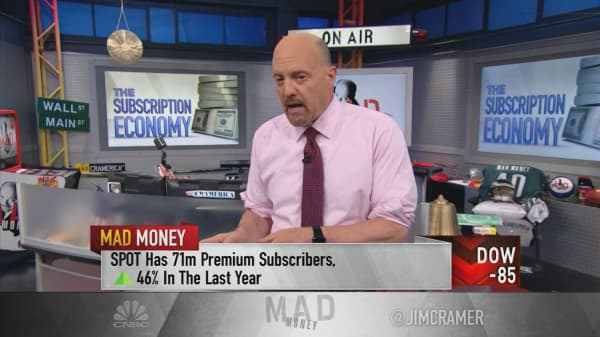 Cramer pinpoints the 'best secular trend' in the market: Subscription services