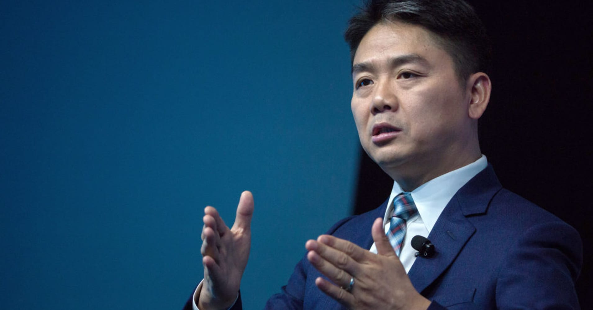 JD.com CEO Richard Liu on possible effects of a US-China trade war