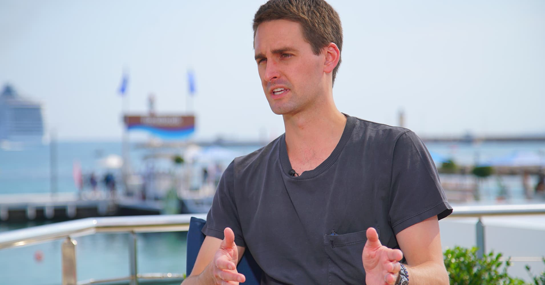 Evan Spiegel vows Snap will still be an independent company in five years