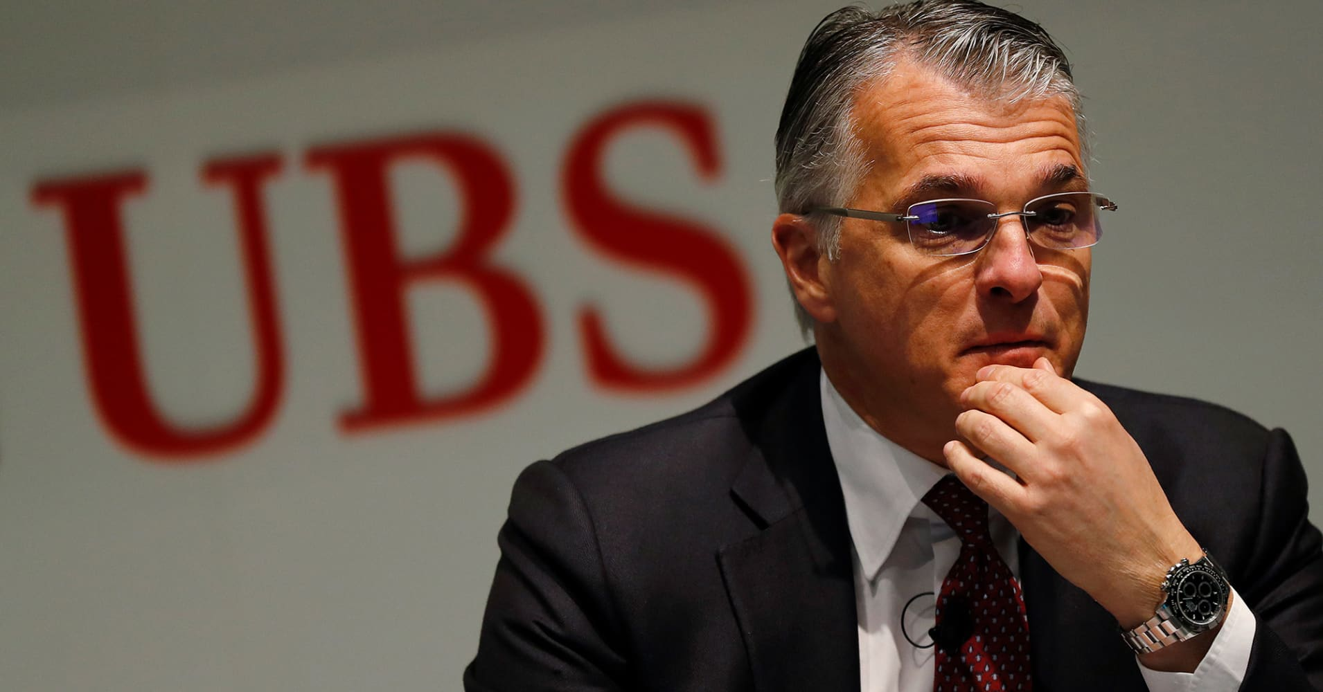 Banking consolidation in Europe is 'inevitable,' UBS chief Ermotti says