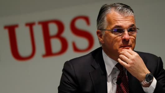 Sergio Ermotti, chief executive officer of UBS Group AG.