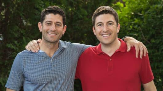 Rep. Paul Ryan and Bryan Steil