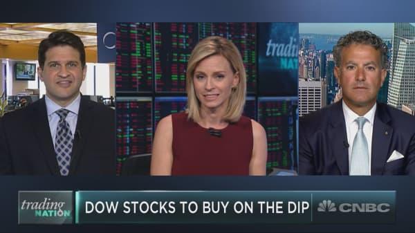 Three Dow stocks to buy on the dip