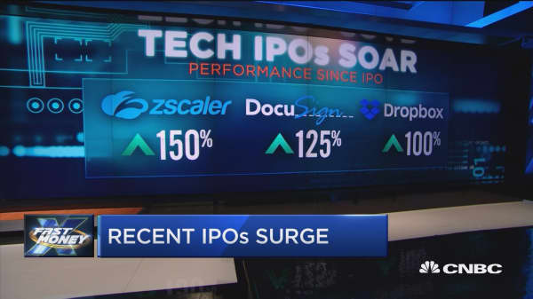 Is it time to bet on the most recent tech IPOs?