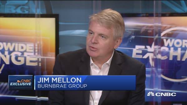 Billionaire Jim Mellon talks the possibility of a trade war