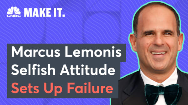 Marcus Lemonis: A 'selfish' attitude is a recipe for failure at work