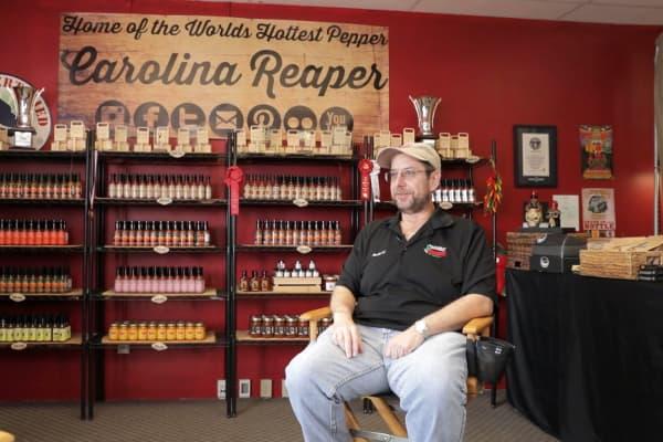 PuckerButt Pepper's founder says last year sales were around $1.5 million.