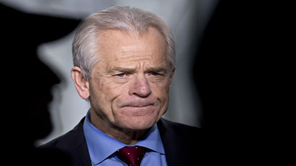 Peter Navarro calls Trump a 'visionary' on tariffs
