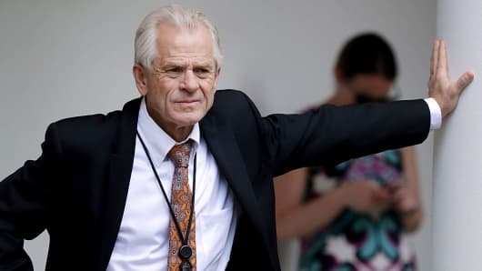 White House National Trade Council Director Peter Navarro