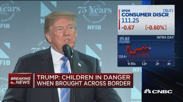 Trump: Immigration loopholes created 'massive child smuggling trade'