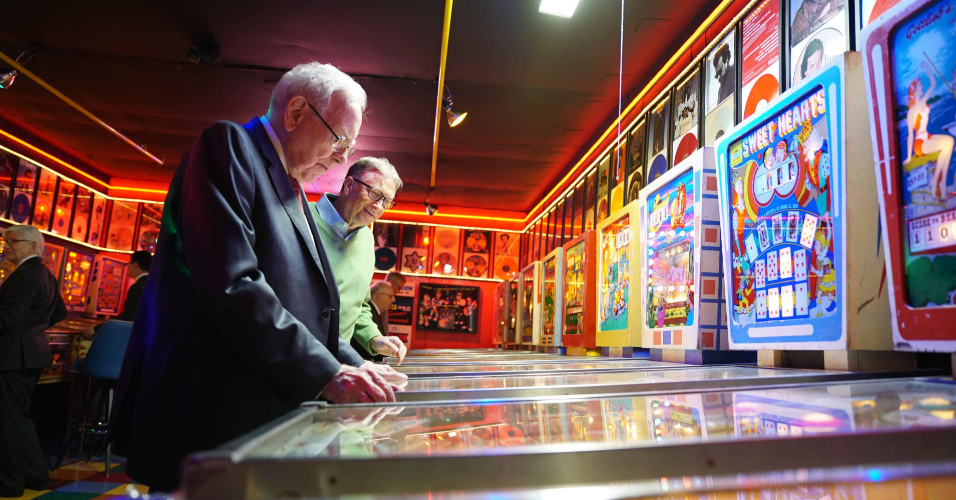 Warren Buffett told Bill Gates that pinball machines were the best business he ever had