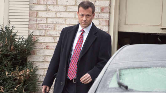 FBI Agent Peter Strzok in January.