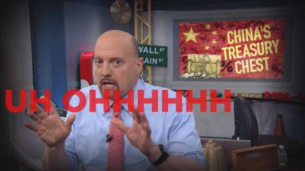 Cramer Remix: Go ahead, China—sell your U.S. Treasurys!