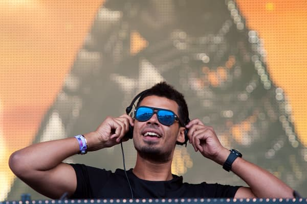 Nick van de Wall aka Afrojack performs on Radio1 stage during T in The Park Day 1 at Strathallan Castle on July 10, 2015 in Perth, United Kingdom.