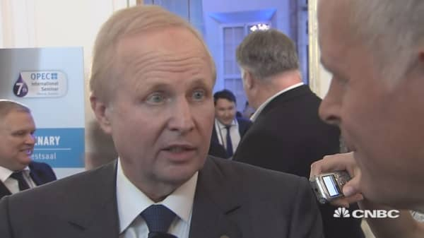 BP CEO: Lot of uncertainty in the world