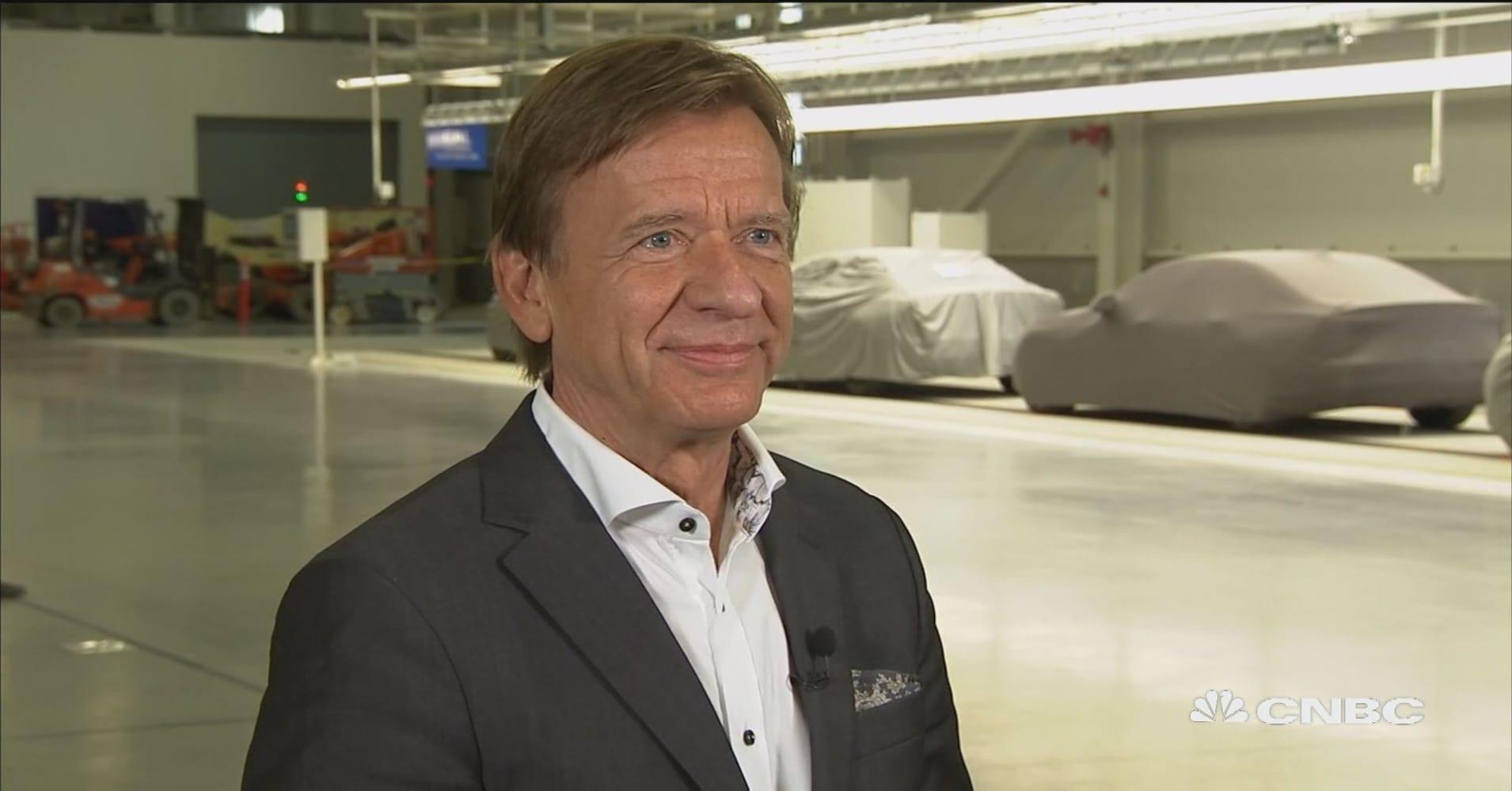 Volvo Opens New South Carolina Plant