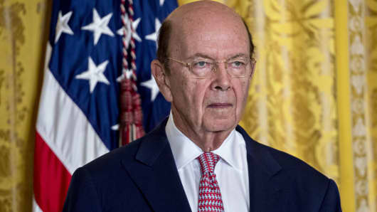 Wilbur Ross, U.S. commerce secretary