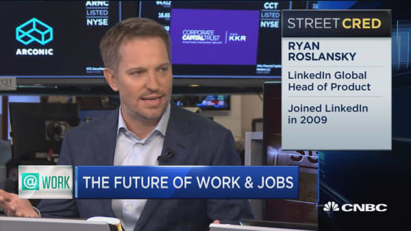 LinkenIn head of product on future of work and jobs