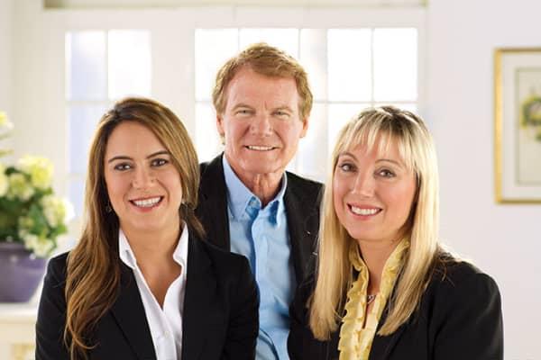 L-R: Wegman family - SVP Nicole Wegman, Chairman Danny Wegman and CEO and president Colleen Wegman