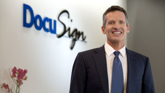 DocuSign CEO Daniel Springer.