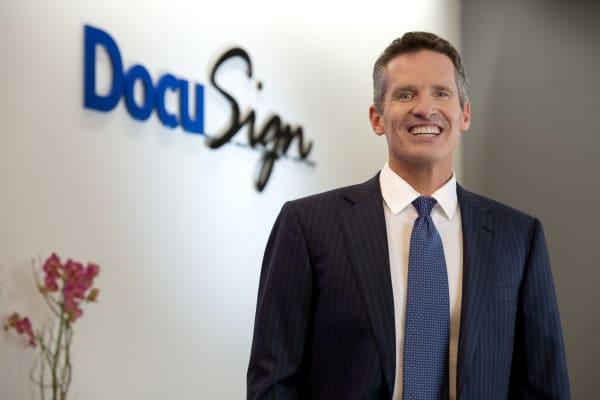 DocuSign CEO Daniel Springer.