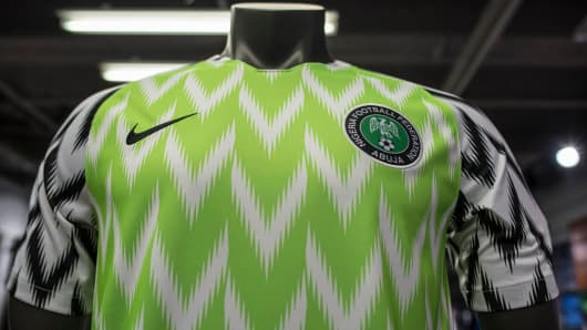 The Nigeria Super Eagles jersey for the 2018 World Cup in Russia has been  hugely popular 22385bcd7