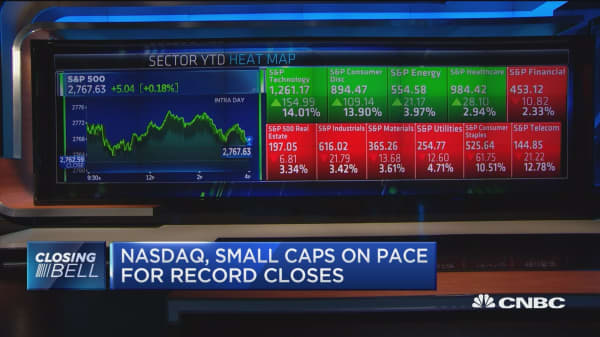 Nasdaq and Russell 2000 close at record highs