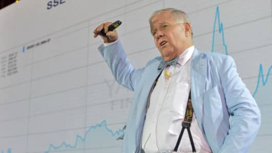 Jim Rogers, American businessman, investor and author.