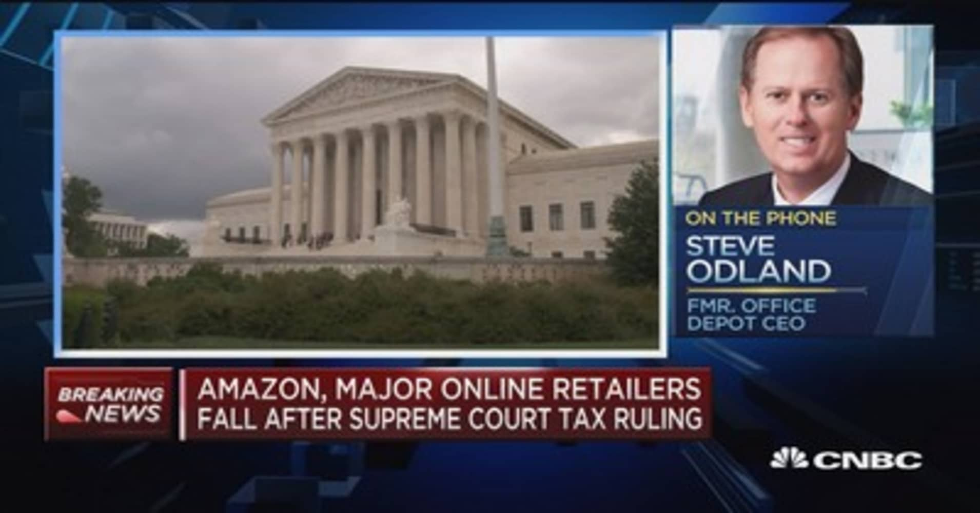 Scotus internet tax decision levels the playing field says former scotus internet tax decision levels the playing field says former office depot ceo malvernweather Image collections