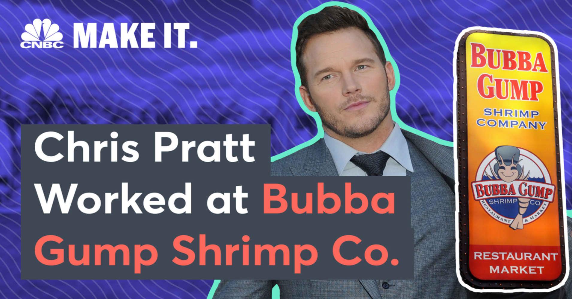 How Chris Pratt went from homeless waiter at Bubba Gump shrimp to $10  million 'Jurassic World' star