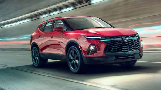 Chevrolet Is Bringing Back The Blazer As A Crossover