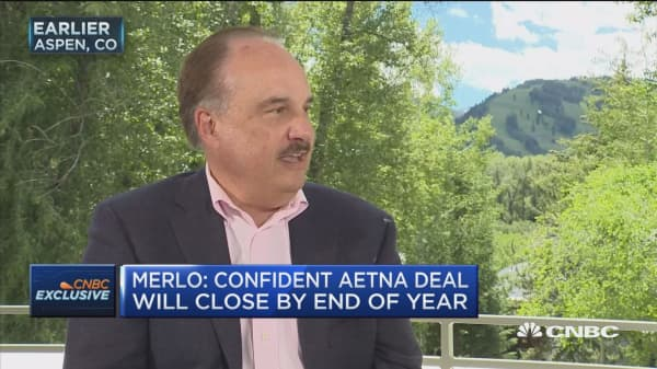 CVS CEO: Confident Aetna merger will close by year's end