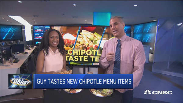 Trader Guy Adami taste tests new Chipotle menu items