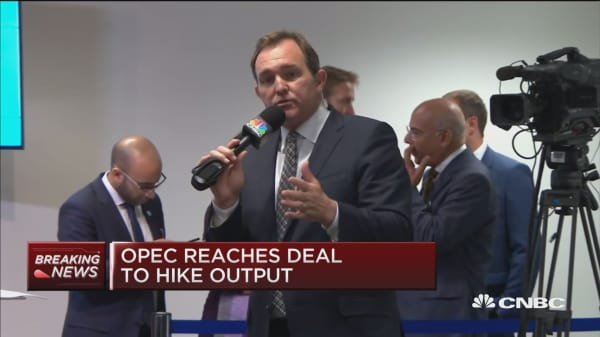 OPEC reaches deal to hike output