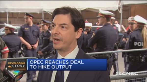 OPEC reaches deal to hike oil output