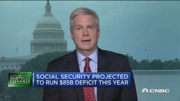 Santelli Exchange: Social Security and Medicare's downward spiral