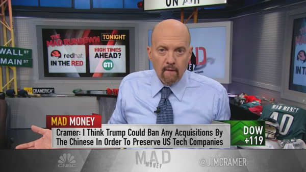 Cramer's game plan on Trump's trade talk