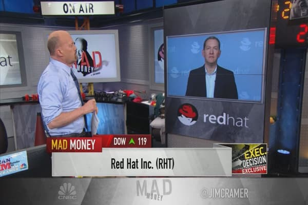 Red Hat CEO on earnings-led stock decline