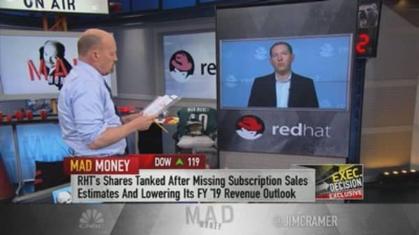 Red Hat CEO on earnings-led stock drop: 'I would encourage investors to look long term'