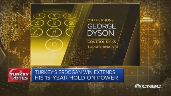 Turkey's Erdogan claims victory in presidential election