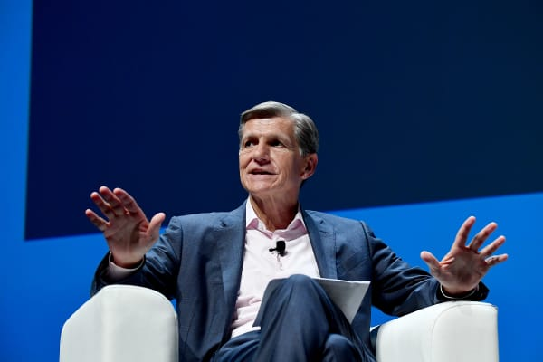 Procter & Gamble's Chief Brand Officer Marc Pritchard at the Cannes Lions International Festival of Creativity in France, June 2018