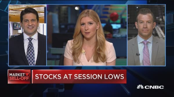 Trading Nation: Technical look at the selloff