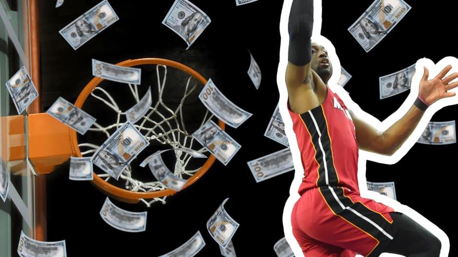 Why Money Worries Keep Nba Miami Heat Star Dwyane Wade Up At Night