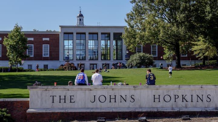 Johns Hopkins University in Baltimore.