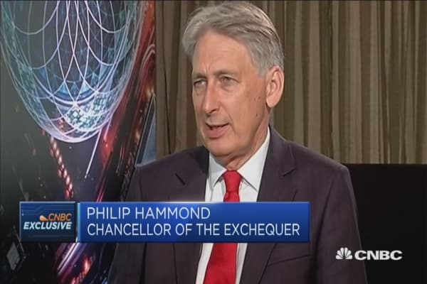 UK's Philip Hammond: I hope we can avoid a full scale trade war