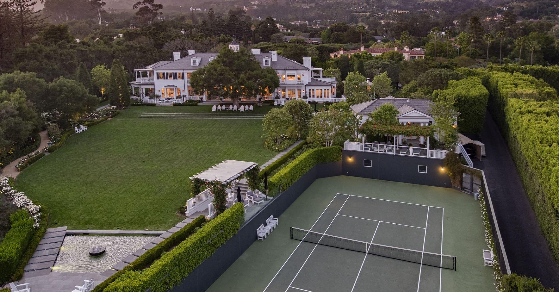 Inside Rob Lowe's $47 million California mansion — where Oprah's a neighbor