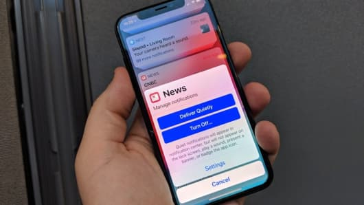 New Notifications in iOS 12