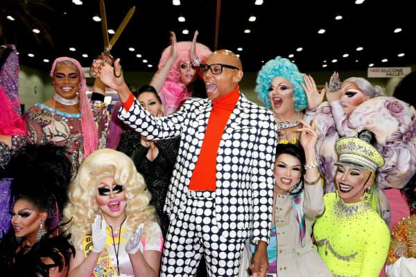 RuPaul Andre Charles at DragCon 2017