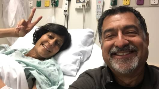 Sethi made a promise to his sister Tania to try to cure cancer in his lifetime