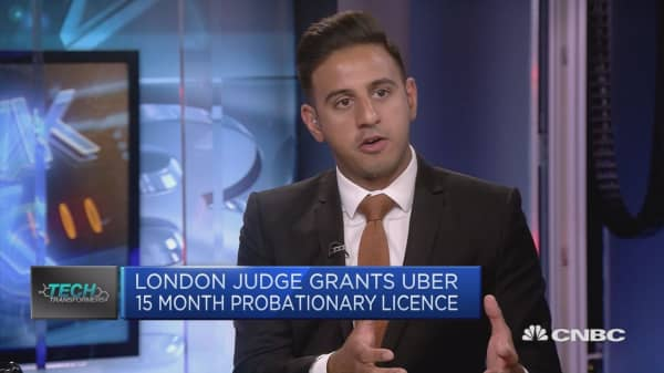 Uber granted 15-month license to continue operating in London